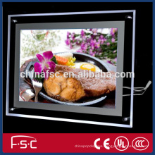 Shopping mall advertising led crystal light box with good quality