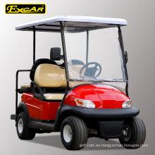 4 asientos plegables carritos de golf eléctricos con certificación CE 48V