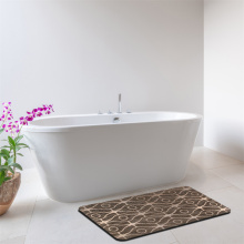 Bonita alfombra de espuma viscoelástica para baño