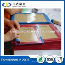 POFA libre grado de alimentos al por mayor precio Reusable Nonstick Fiberglass Silicona Baking Mat