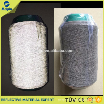 Glow in the Dark High Silver Retro Reflective Thread/silver Knitting Yarn