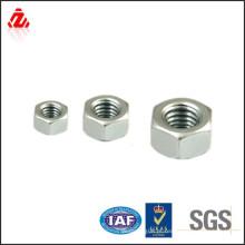 Porca hexagonal de aço sem silicone M5