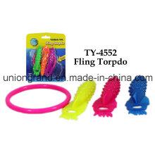 Funny Fling Torpdo Toy para crianças