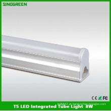 Ce RoHS alta qualidade T5 LED tubo de luz integrada 8W