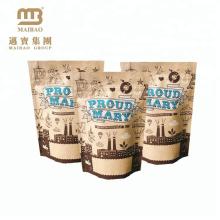 saco de papel kraft bolsas de papel kraft / fabricantes de saco de papel kraft / saco de café kraft