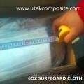 Paño de fibra de vidrio de 4 onzas con hilo torcido para tabla de surf