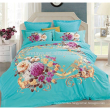 China Home Textile 3D Bed Cover Set and Comforter Set Factory