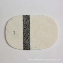 Tabla de cortar de granito y mármol