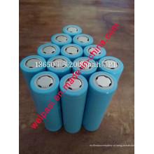 3.7V 800mAh, Bateria de Lítio, Li-ion 18650, Cilíndrica, Recarregável
