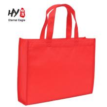 Tragbare nichtgewebte Einkaufstasche im Freien mit niedrigem Preis