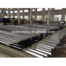 Chinês Standard Hot DIP galvanizado Electric octogonal pólo de aço