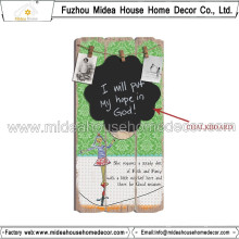 Factory Direct] Hot Sale Hanging Chalkboard Decorative Hanging Chalkboard