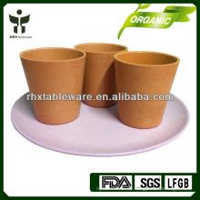 Bunte PFLANZEN FASER trinken Tee-Sets