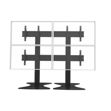 """Video Wall Stand Floorbase 4 Screens 40-55"""" (2*2) (AW 400A)"""