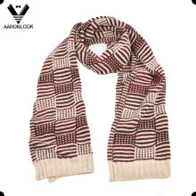 2016 Inverno Moda Jacquard Homens Scarf / 2 Colorways Sellection