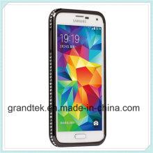 for Samsung S5 I9600 Bumper Case Skin Cover Frame Case High Quality