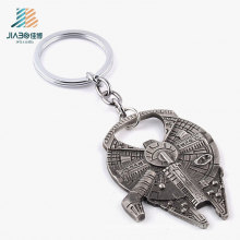 High Quality Antique Black Star Wars Promotion Bottle Opener Keychain