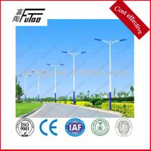 Poste de luz de estrada com braço único ou duplo