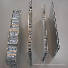 Aluminium nid d'abeille / aluminium sur panneaux d'aluminium