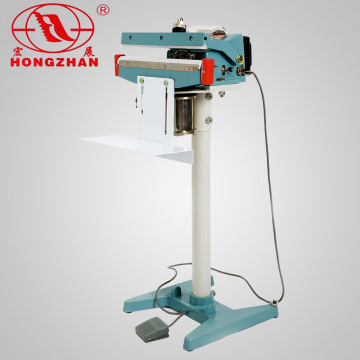 Automatische elektrische magnetische Pedal Dichtungsmaschine mit Handbetrieb und CE-Zertifikat für Packsäcke und Film-Dichtung