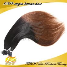 Mode Cheveux Style Ombre U Pointe Cheveux Extension