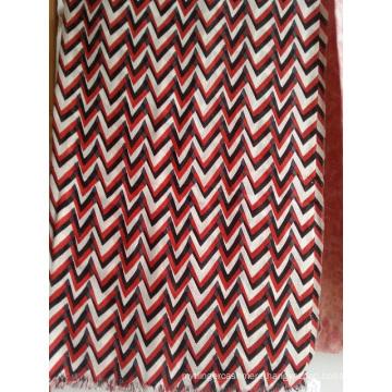 50%Silk 50%Wool Printed Woven Light Shawl