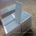 Grades de barra de aço galvanizado para antiderrapante
