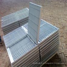 Reja de barra de acero galvanizado para antideslizante