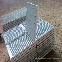 Verzinktem Stahl Bar Gitter für rutschfeste