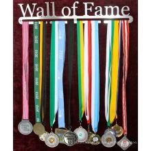 Индивидуальный логотип спорта медаль вешалка дисплей вешалка для медали