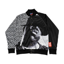Bequemer Brunnenentwurf populäre Jacke mit Metallwölbung (JK002)