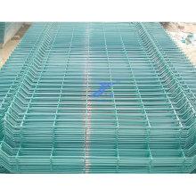 Panel recubierto de PVC de alambre soldado