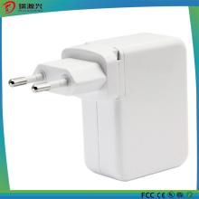 Quad USB AC Charger with Detachable Plug 4A (Max)