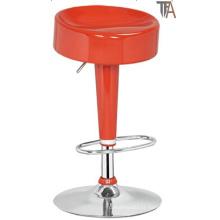 Tamborete vermelho da barra da cor para a mobília da barra (TF 6009)
