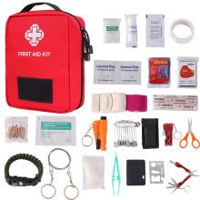 Тактическая медицинская сумка для выживания на открытом воздухе Molle