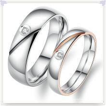 Jóias moda anéis de aço inoxidável amantes (SR585)