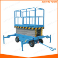 small electric scissor lift/skylift for sale mobile electric power ladder