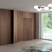 La puerta interior de estilo Kent diseña el catálogo de puertas invisibles para villa