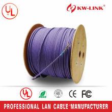 Cable original del LAN del cat6e cat6a CAT7 de utp / ftp / stp de la calidad estupenda