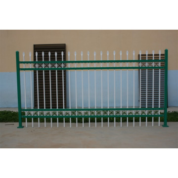 No Excavar Powder-Coated y Galvanizado Ornamental Valla de acero