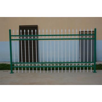 Нет порошка с порошковым покрытием и оцинкованной декоративной стальной оградой