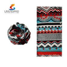 hot new style 2015 wholesale cashmere blend autumn and winter thermal bandana neck warmer gaiter skull bone face mask