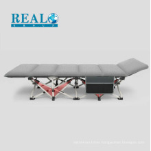 New Design modern travel folding sofa bed with side bag and corduroy cotton mattress manufacturer