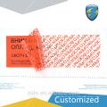 Сделано в Китае Клейкая печать VOID наклейки со скидкой