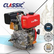 CLASSIC CHINA 4HP Einzelzylinder Luftgekühlter elektrischer Start Tragbarer Dieselmotor für Wasserpumpe
