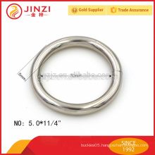 metal manufacture supplier welded iron wire o ring