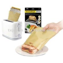 Bolso reutilizable del emparedado de la tost
