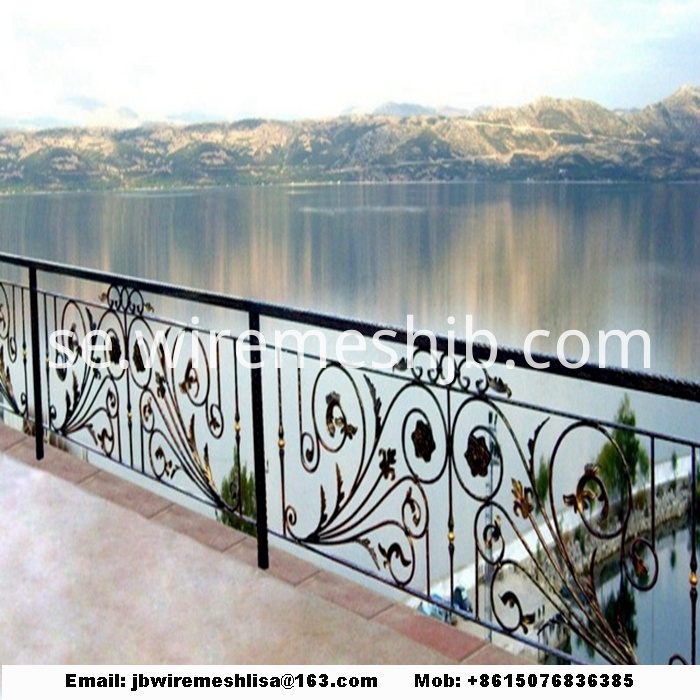 Powder Coated Zinc Steel Fence/ Wrought Iron Fence