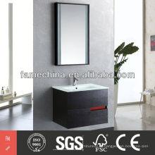 Hangzhou Oak Wood Verneer Gabinete de banheiro