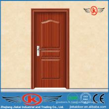 JK-P9026 PVC dernier design portes intérieures en bois